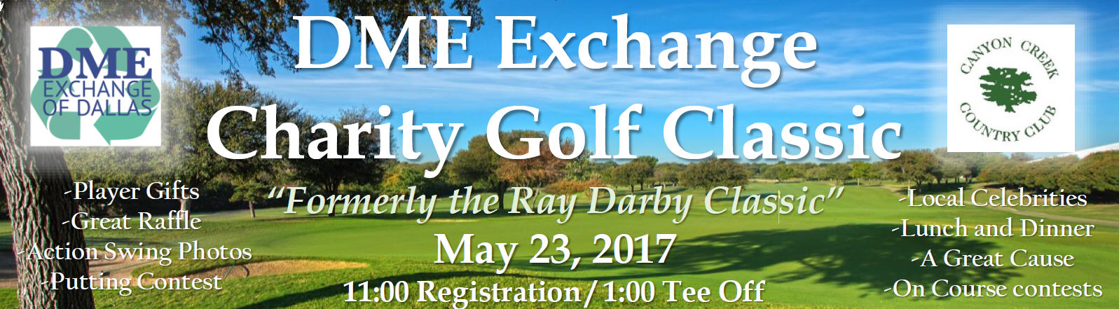2017 DME Exchange Charity Golf Classic